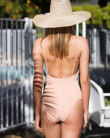 Static Swimwear Pacific One Piece - Nude