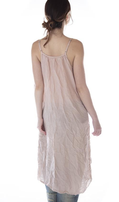 Slip 94 - Cotton Silk Audrey Simple Slip with Adjustable Thin Straps, Raw Edges and Seams by Magnolia Pearl | The Scarab