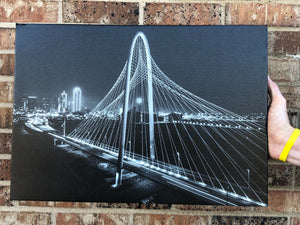 margaret hunt hill bridge ON Canvas (20x14)