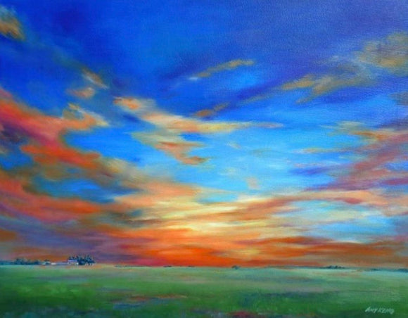 Sunset on the Heartland 40x30