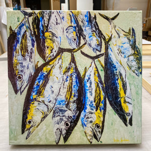 Yellowfin Tuna Group 12x12