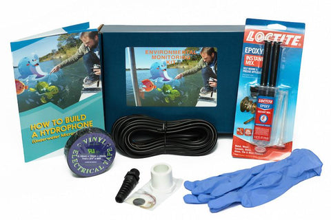 Hydrophone (Underwater Microphone) Kit - KitHub Shop