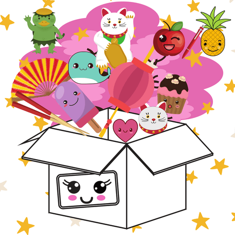 Surprise! Box From Japan - KitHub Shop