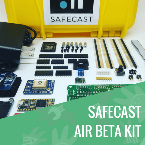 Safecast Air Quality Monitoring Station - KitHub - 1