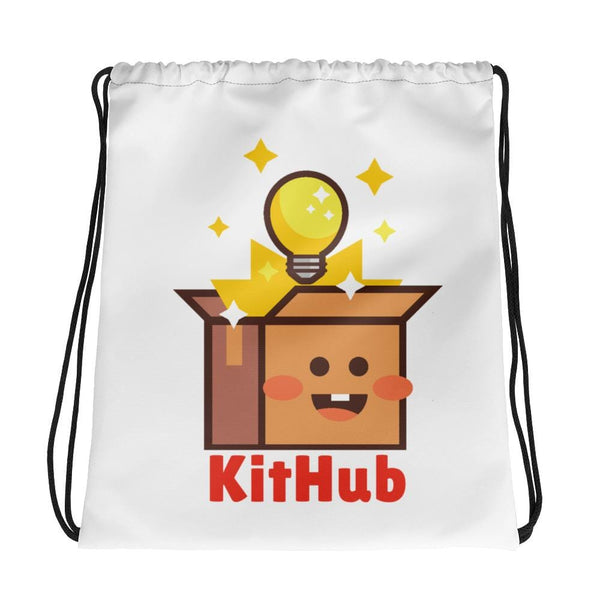 KitHub Drawstring Bag - KitHub Shop