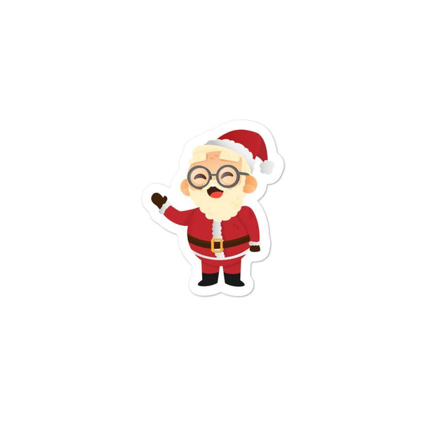 Santa Sticker - KitHub Shop