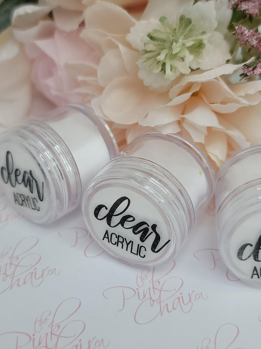 Sweater Nail Powder - Clear Acrylic (438-440)