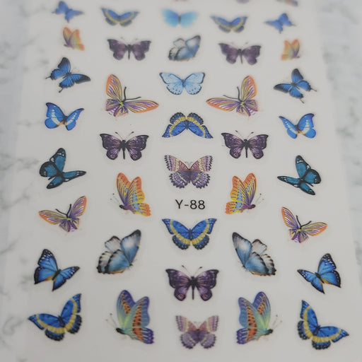 Butterfly Nail Decal - Y-88