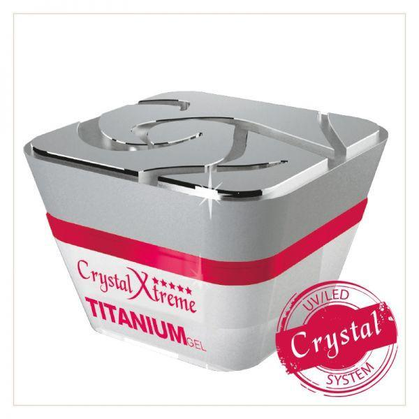 Titanium Xtreme Clear Gel - thePINKchair nail studio