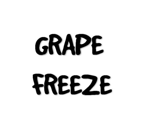Jumy Juice Grape Freeze Flavour Concentrate (Sweet Grape and Koolada)