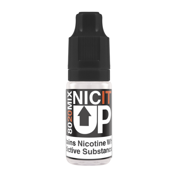 NICIT UP 18mg VG/PG: 80/20 nicotine shot (TPD Compliant)