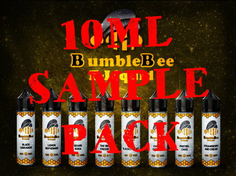 5 x 10ml Bottle Sample Packs