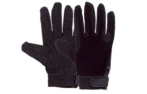 harry hall cotton pimple gloves black adult sizes only £1 a pair