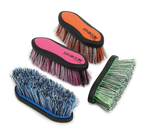 1484 ezi groom grip dandy brush small