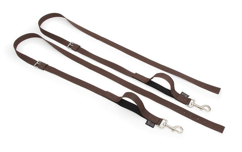 Nylon Web side reins 411 black or brown
