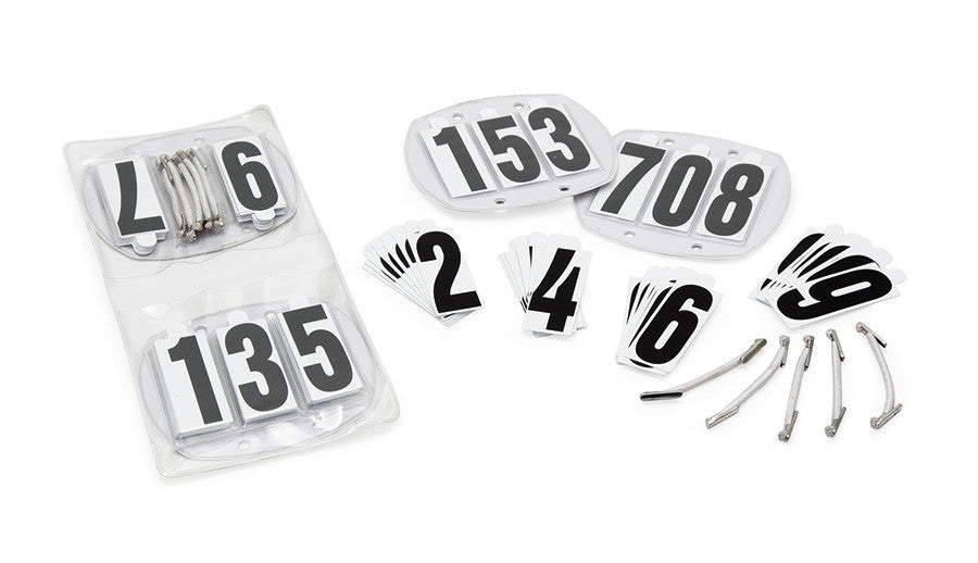 bridle number kit 8082n