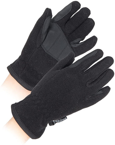 shires four seasons fleece gloves black only £1.50 a pair