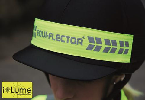 EQUI-FLECTOR® FLASHING HAT BAND 9428