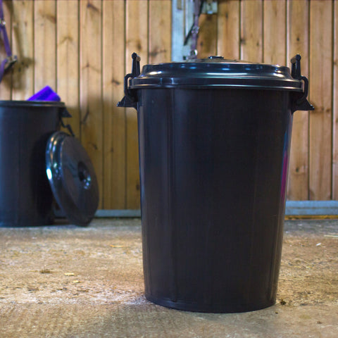 COLLECTION ONLY CANNOT SHIP - 100ltr multin bin black