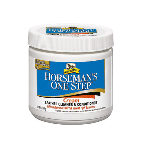 Horseman's One Step cream Leather Cleaner & Conditioner 425g