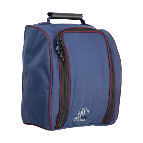 Hy Event Pro Series Helmet Bag navy/burgundy