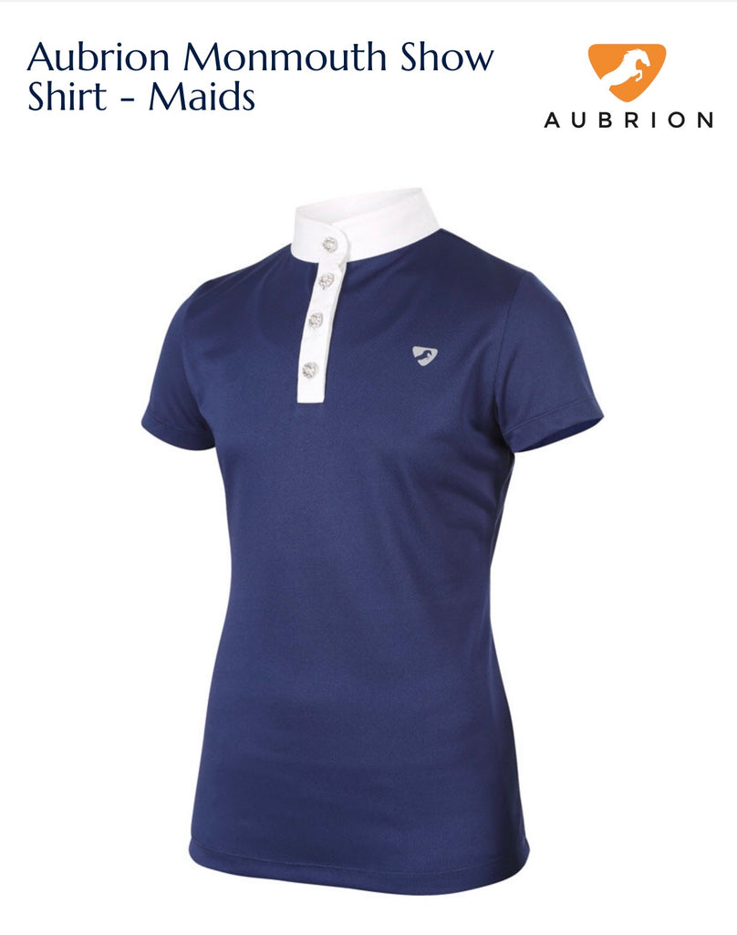 9230 Aubrion Monmouth Show Shirt - Maids navy