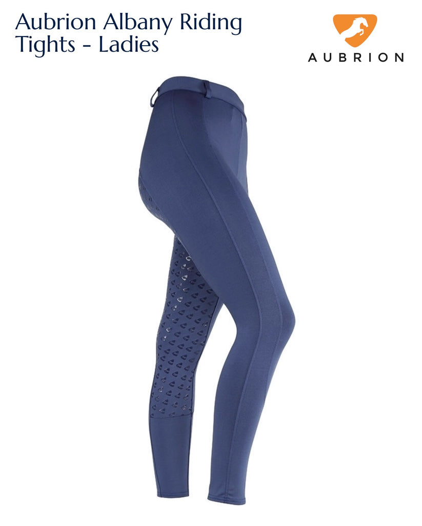 9193 Aubrion Albany Riding Tights - Ladies