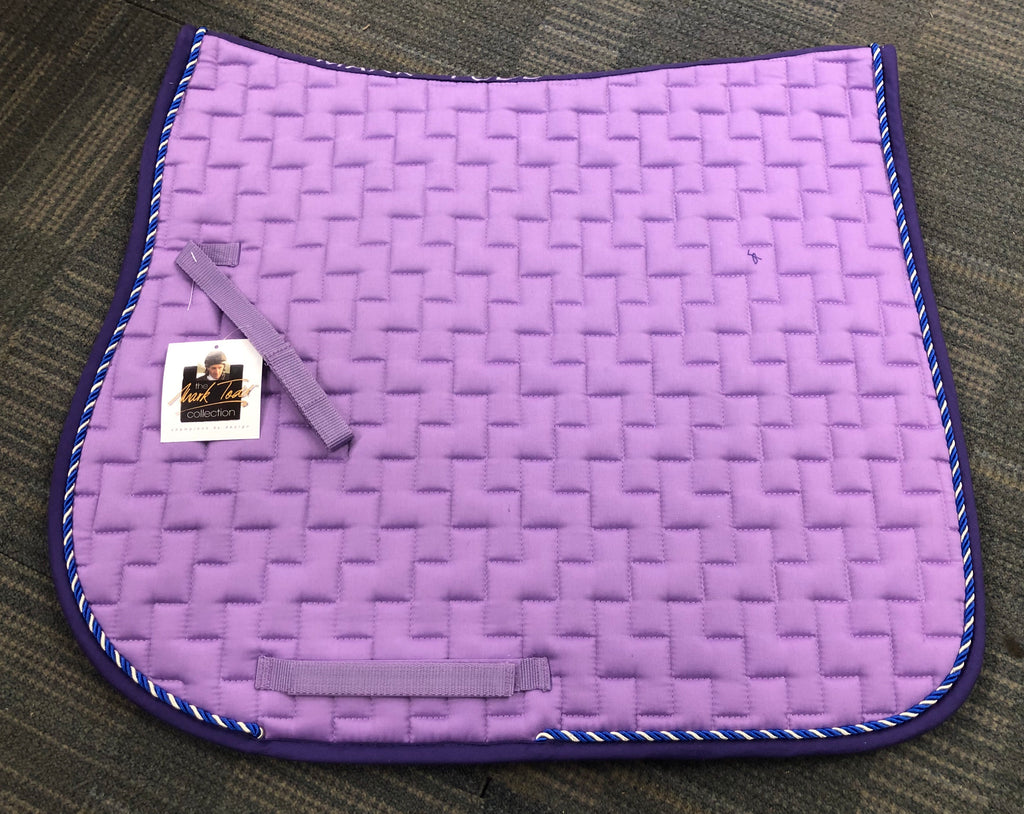 Marktodd gp saddlepad lilac purple cob and pony size rrp £34.99 our price £9.99
