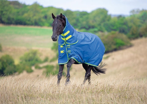 9373 Shires tempest original 50g combo turnout rug