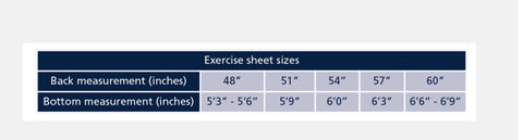 32f Tempest Original Fleece Exercise Sheet