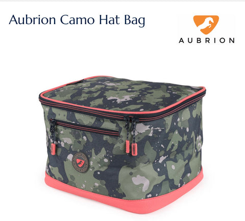 7722 Aubrion Camo Hat Bag