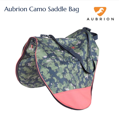 7726 Aubrion Camo Saddle Bag