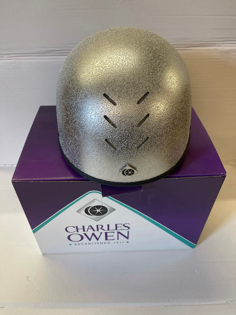 Charles Owen Pro 2 hat Silver only £55 each TRADE SALE