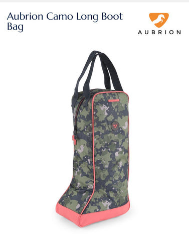 7723 Aubrion Camo Long Boot Bag