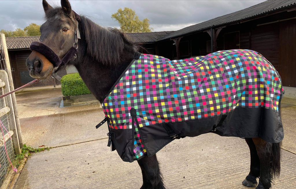 50g standard neck turnout rug multicoloured only £34.99