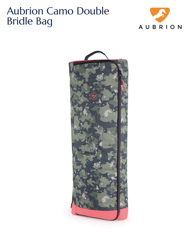 7724 Aubrion Camo Double Bridle Bag