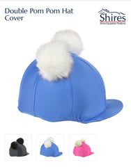 827 double pom pom hat cover