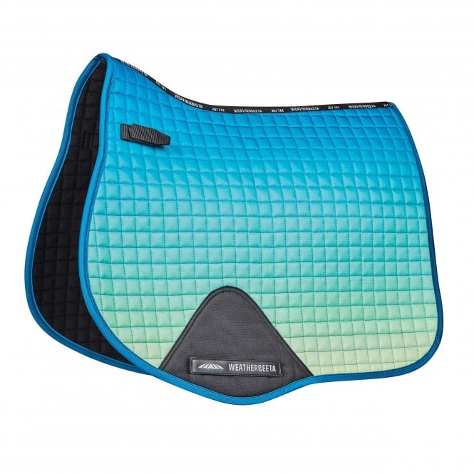 weatherbeeta prime ombre all purpose saddle pad oceans reef full size