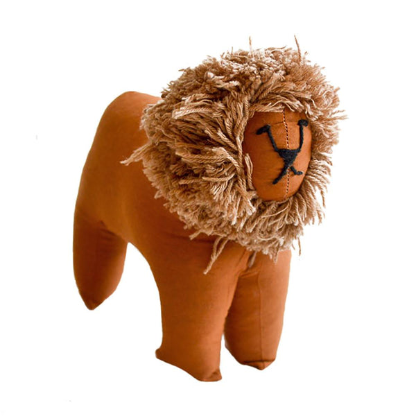 Safari Stuffed Animal Large Lion - Imani Workshop (G)