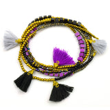 Kerala 3-in-1 Necklace Midnight - Global Groove (J)