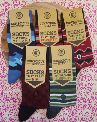 Conscious Socks for Groomsmen Pack
