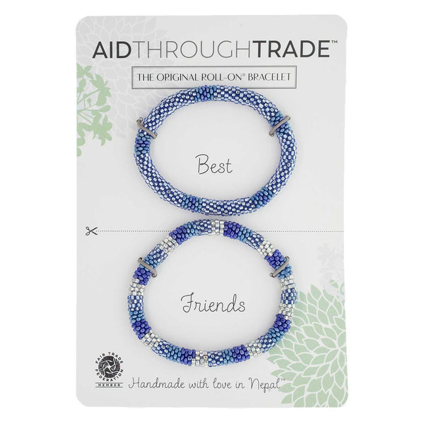 Roll-On Friendship Bracelets - Arctic Blue - Aid Through Trade