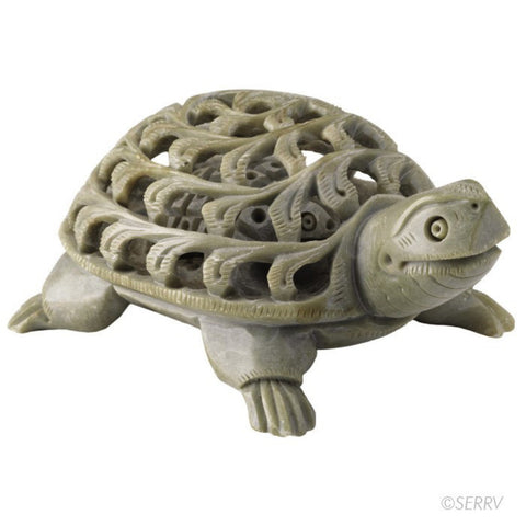 Double Carved Turtle