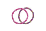 Roll-On Friendship Bracelets - Fuchsia Fusion - Aid Through Trade