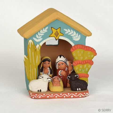 Peruvian House Nativity