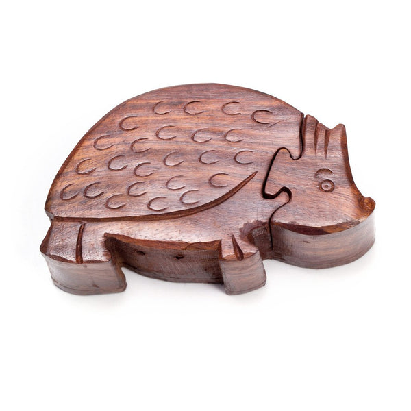 Hedgehog Puzzle Box - Matr Boomie