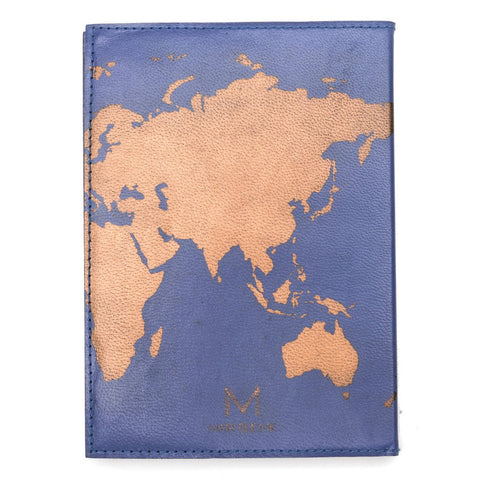 Globetrotter Leather Journal - Blue - Matr Boomie (J)