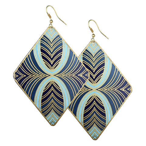 Blue Crush Earrings