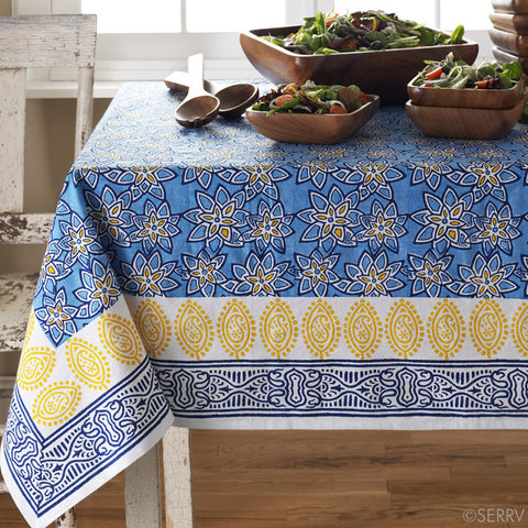 Spring Flowers Tablecloth