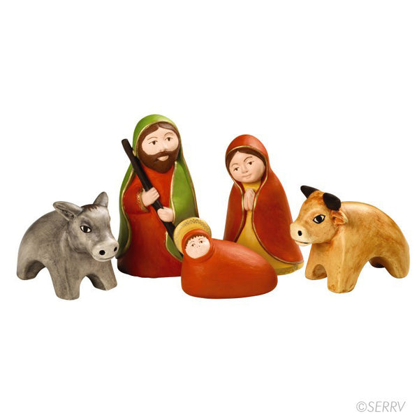 Peruvian Nativity Set